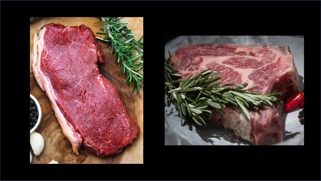 Images of raw steak