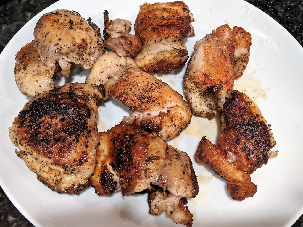 cooked chicken on a plate