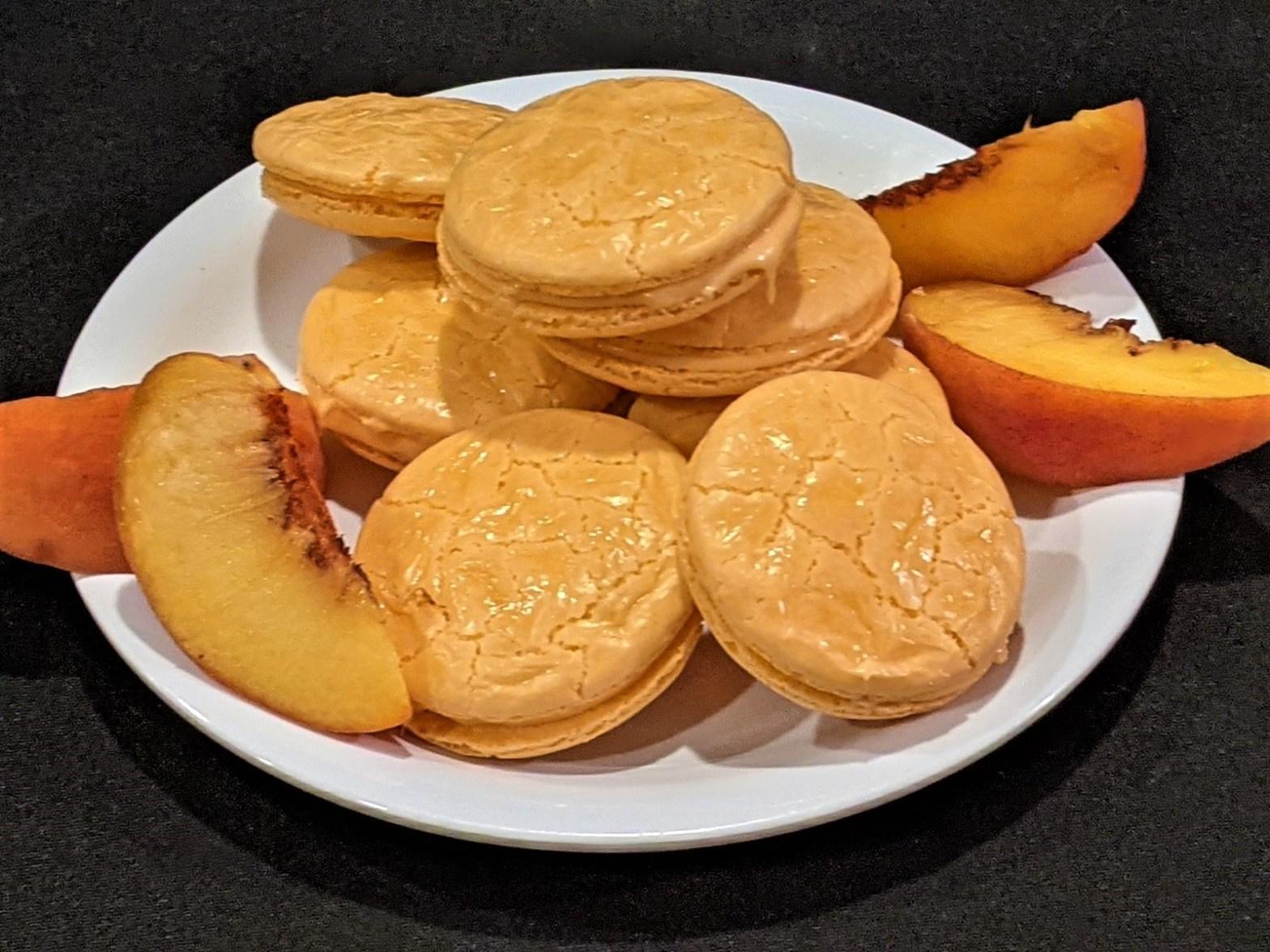 Peach-aron Cookies
