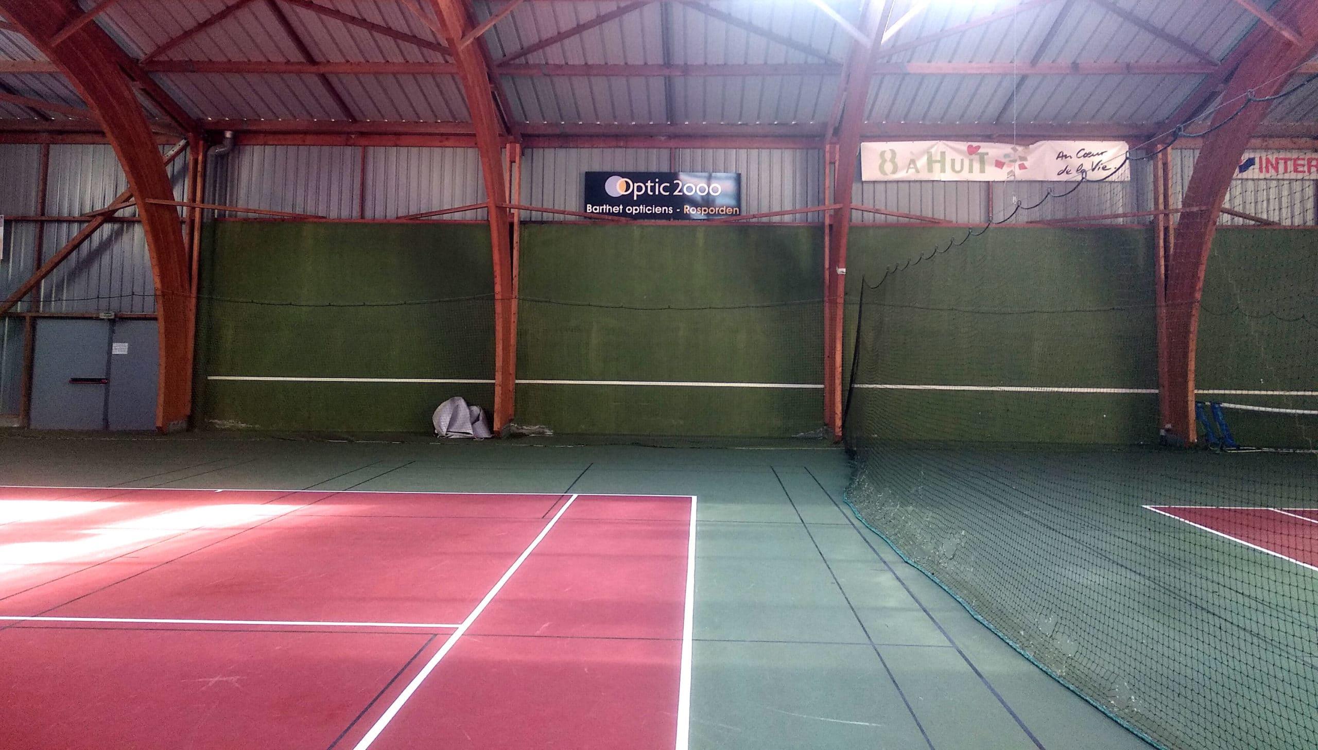 "Panneau en dibond ""Optic 2000"" - Tennis Club - Rosporden"