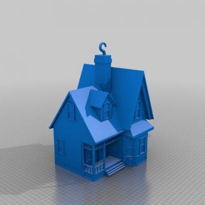 Casa pentru copii imprimata 3d in Chisinau dupa tehnologie FDM desene animate