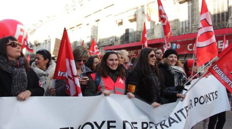 Les femmes mobilisées en période de grève