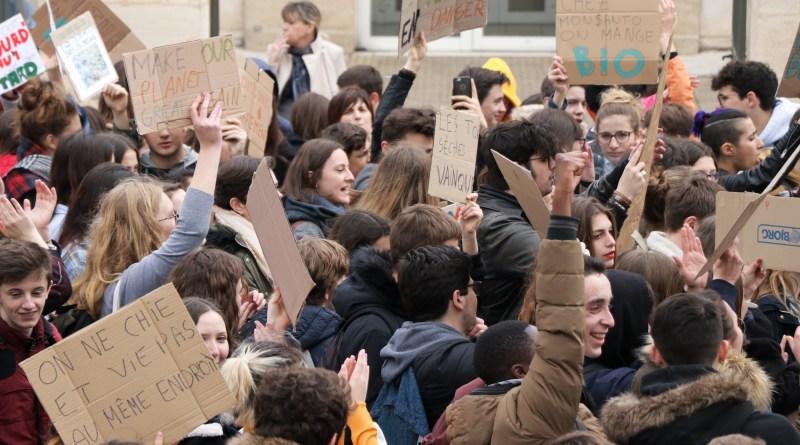 Les lycéens se mobilisent pour le climat