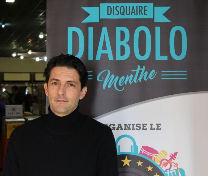 Alexandre est l'organisateur du salon du disque de Bordeaux
