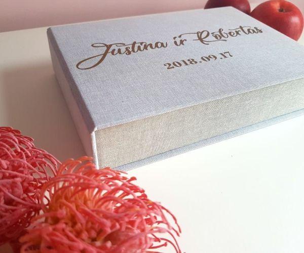 Palinkėjimų dėžutė su kortelėmis - dežučiu gamyba - imprimera