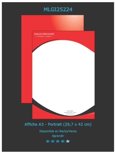 affiche publicitaire festival d'Avignon