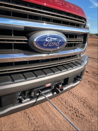 Ford Performance Parts winch