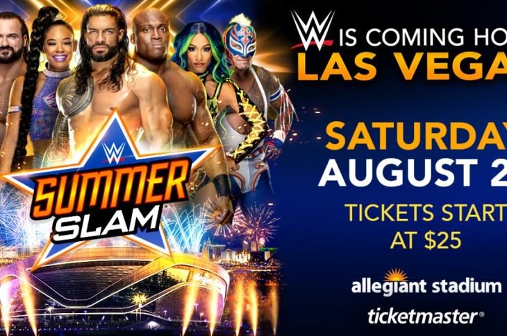 IMPRINTent, IMPRINT Entertainment, YOUR CULTURE HUB, WWE, World Wrestling Entertainment, Las Vegas, SummerSlam, Allegiant Stadium, Entertainment News, Ticketmaster