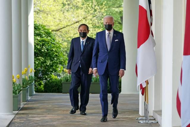 IMPRINTent, IMPRINT Entertainment, YOUR CULTURE HUB, Joe Biden, Prime Minister Suga Yoshihide, The White House, Politics, Political News, Japan, President Joe Biden