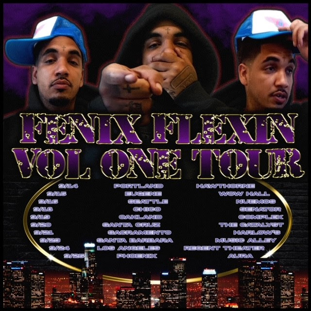 IMPRINTent, IMPRINT Entertainment, YOUR CULTURE HUB, Atlantic Records, Fenix Flexin, Brittany Bell, Drakeo The Ruler, Rob Vicious, Bravo The Bagchaser, D-Block Europe, Peso Peso, SaysoTheMac, Fenix Flexin Volume One Tour, Wiz Khalifa, Entertainment News, New Music Releases