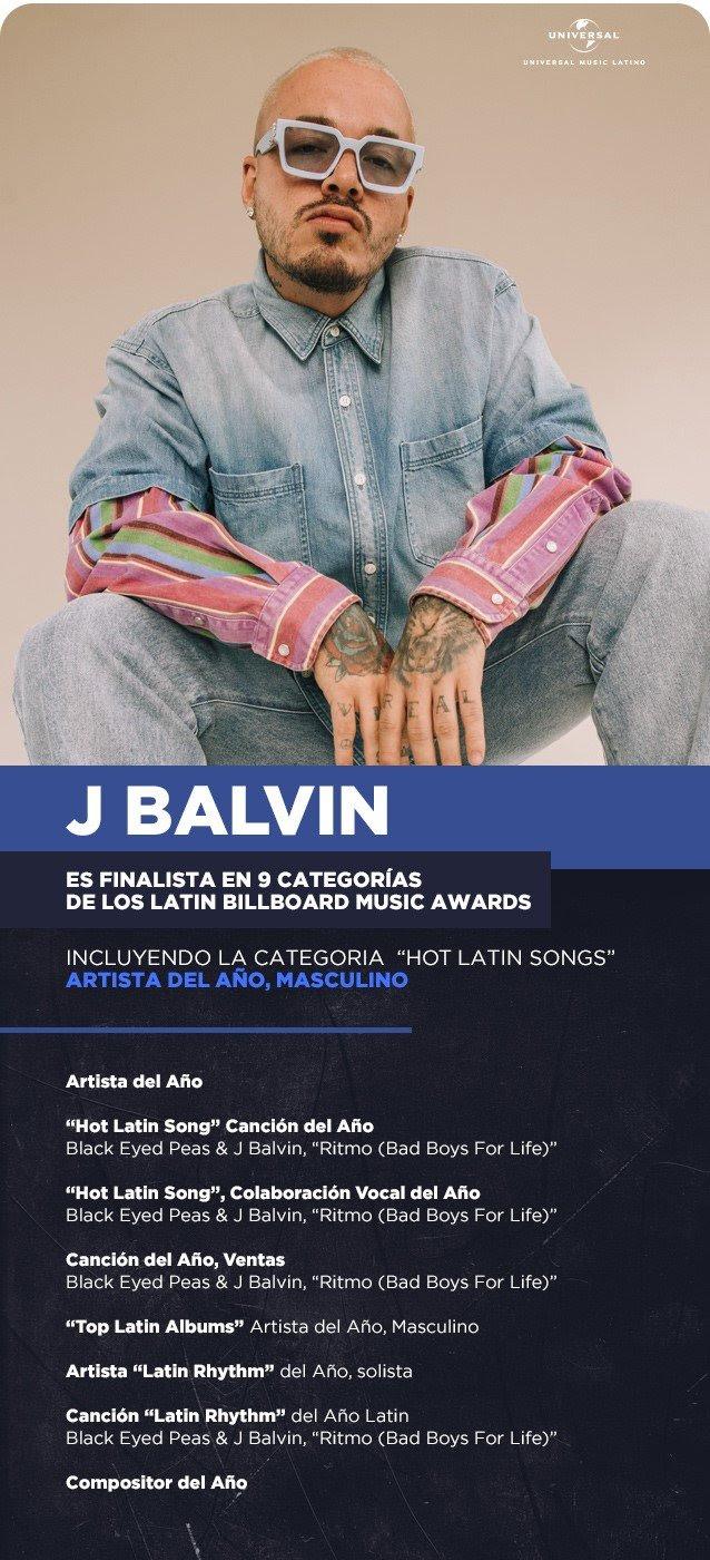 IMPRINTent, IMPRINT Entertainment, YOUR CULTURE HUB, J Balvin, Latin Music, Latin Artist, Latin Entertainment, Universal Music Latino, Universal Music Group, Universal Music Latin Entertainment, Carlos Perez, Billboard Music Awards, BMA's