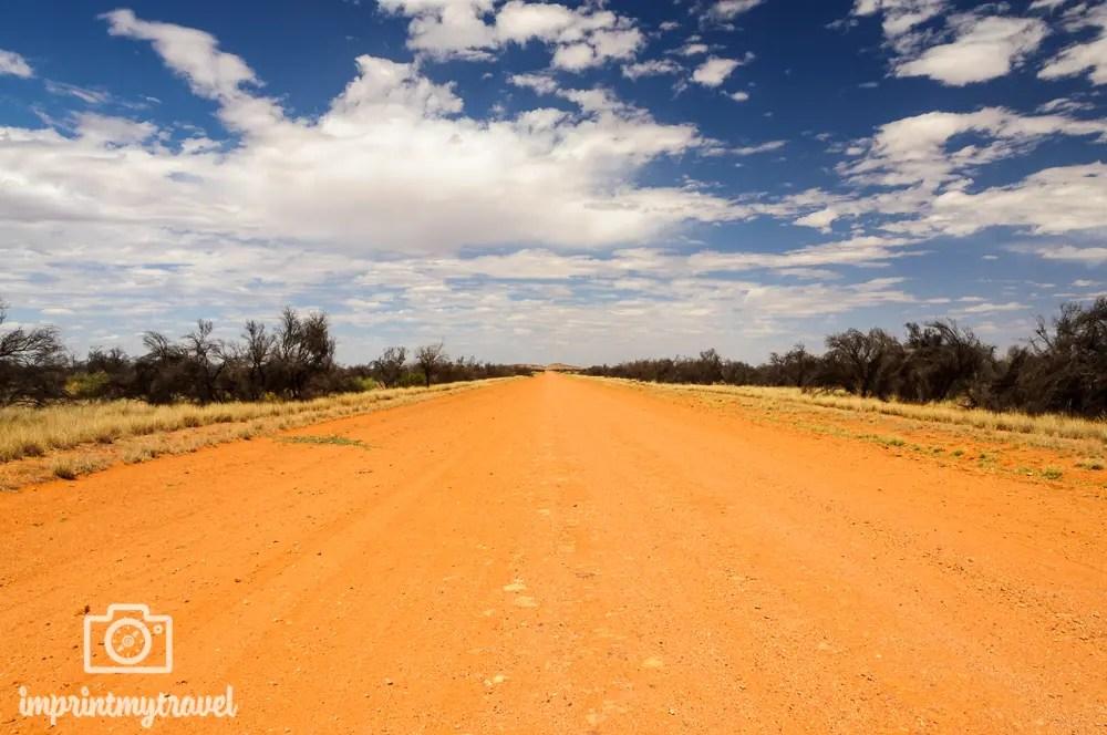 Outback Australien: Dirtroad