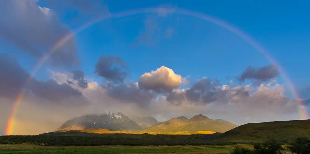 Panoramabilder in Lightroom erstellen Regenbogen