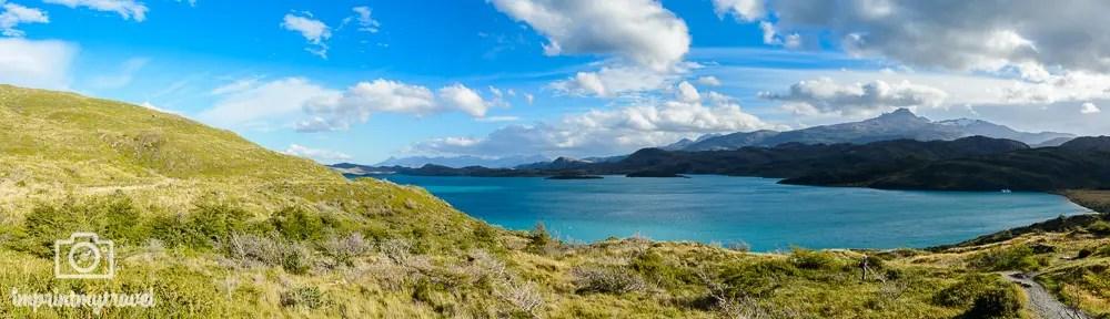 Panoramabilder in Lightroom erstellen Lago Pehoé