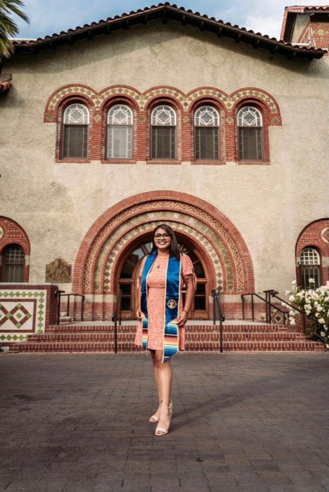 Veronica Vieyra benefited from the UBI program Santa Clara County has in place for former foster youth.