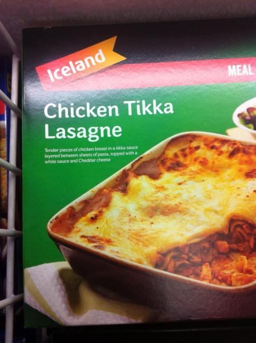Lasagne Tikka