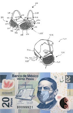 The new Mexican peso note