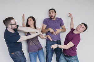 image of the cast of Improvable