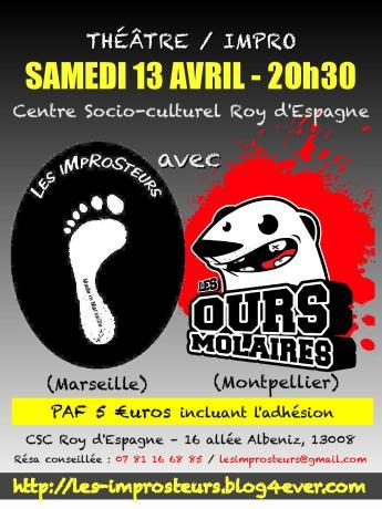 Match avec les Ours Molaires (2013)