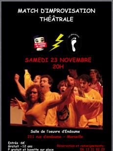 Match d'impro avec les Guignols (2014)