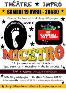Micetro avec les Guignols (2014)