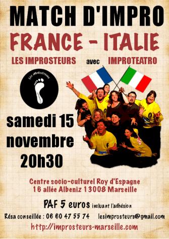 Match avec Improteatro (2014)