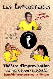 Présentation de la saison 2015-2016 des Improsteurs