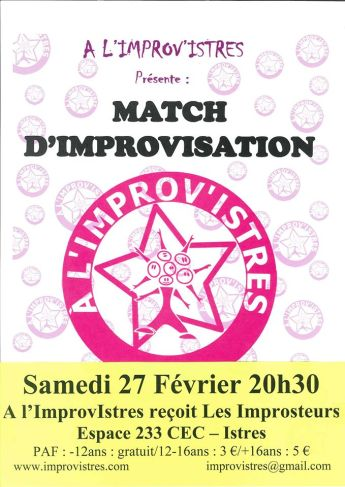 Match à Istres, février 2016