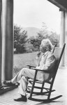 twain on the porch