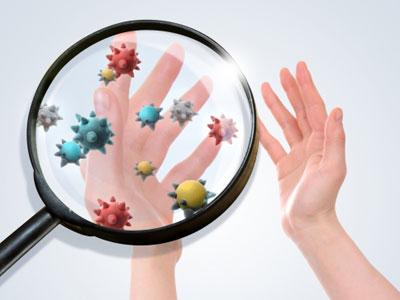 栄養分にまぎれて侵入する病原菌やウィルスなどの有害物質