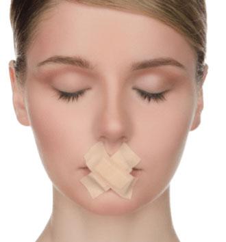 普段から口呼吸を改善し鼻呼吸を心掛ける