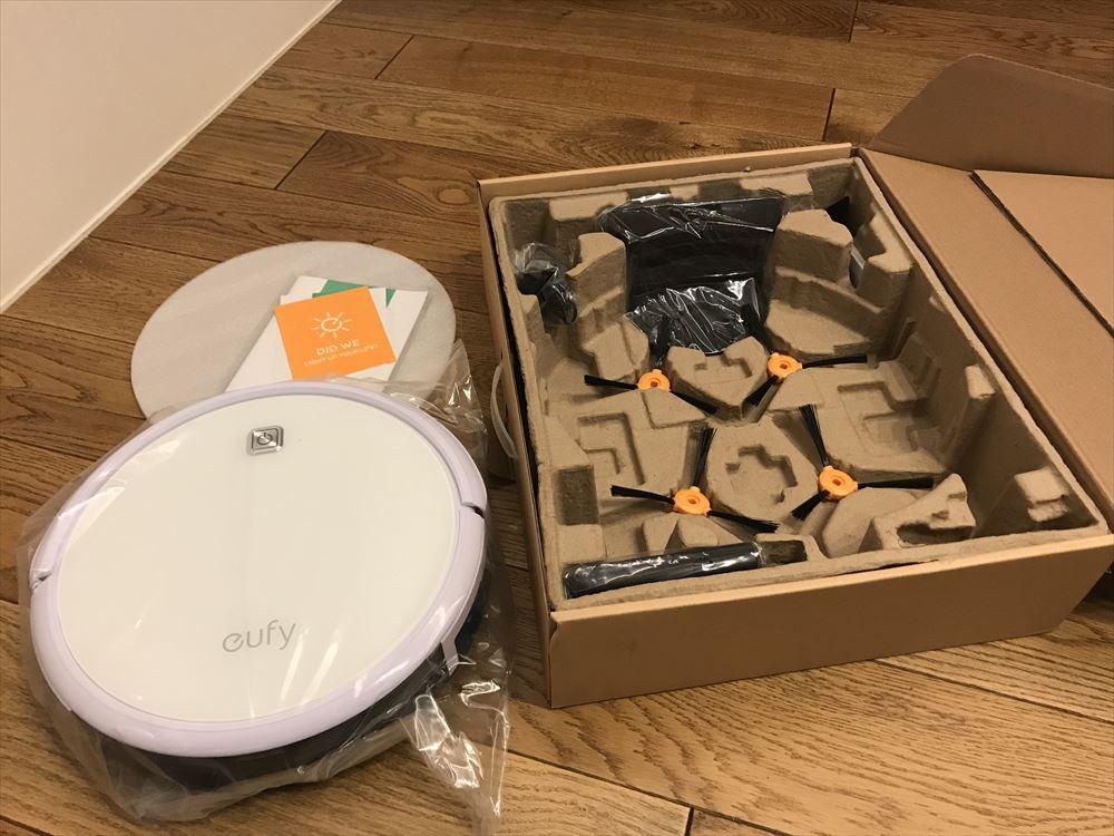 eufy RoboVac11の開封