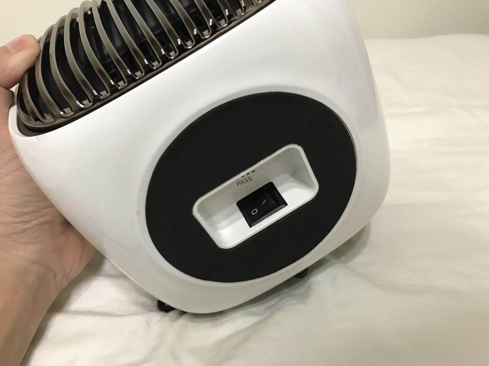 ファンヒーター主電源
