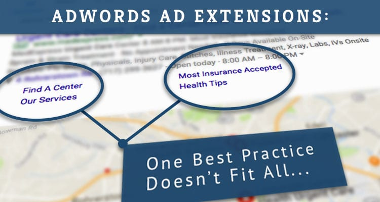 AdWord Ad Extension Optimization