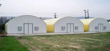 Figure 6: Mushroom houses (insulated)
