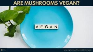 Are mushrooms vegan