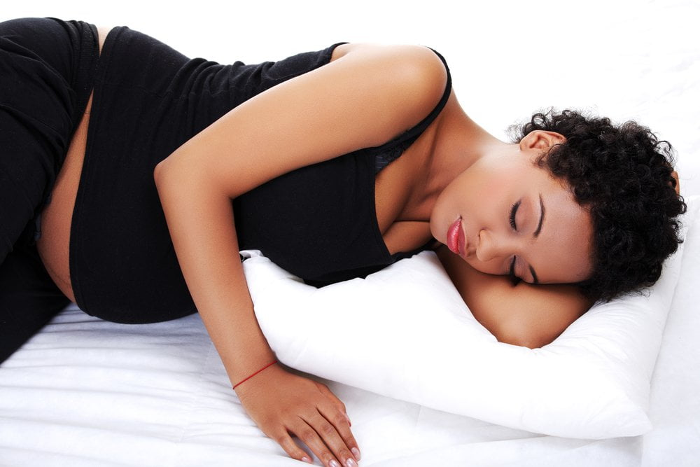 side sleeping when pregnant