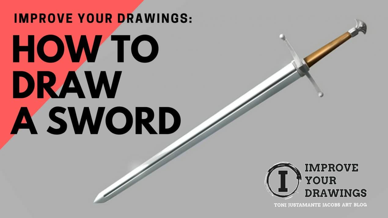 How to draw a sword 9