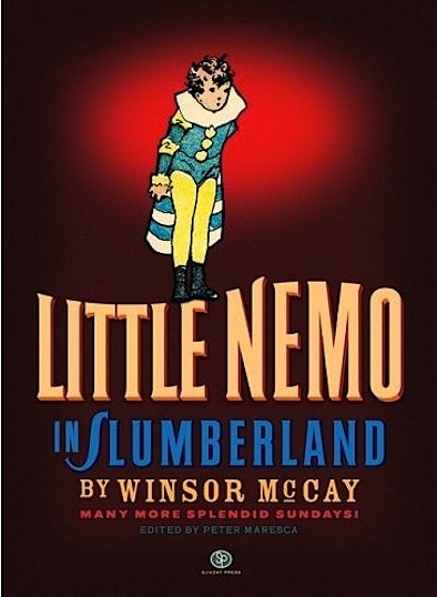 Little Nemo in Slumberland: Many More Splendid Sundays HUGE coffee table book cover