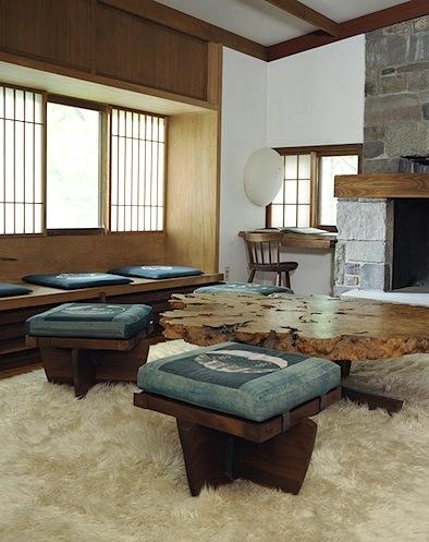 Nakashima Noguchi sideways wall light