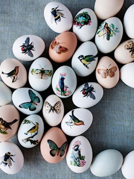 tattood Easter eggs