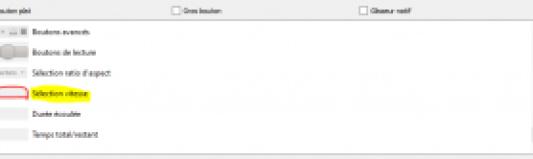 VLC controle de la vitesse de let0cure