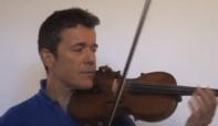 photo : mon premier cours de violon