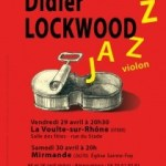 concert Didier Lockwood improvisation au violon