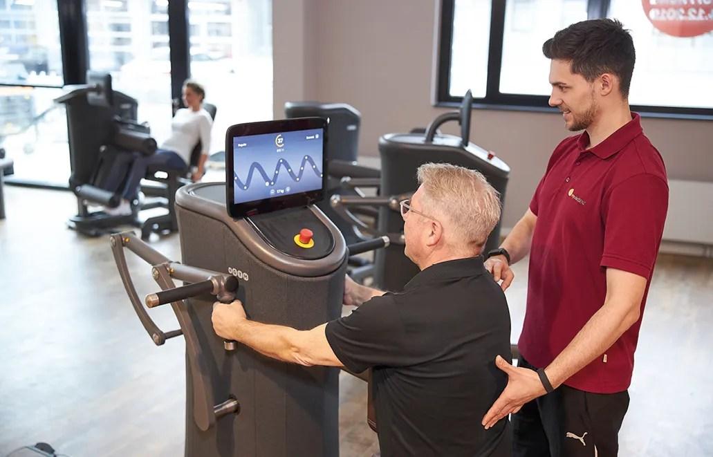 Fitnesstraining und Rückentraining