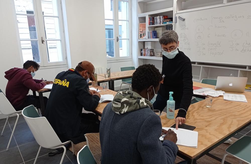 ComenFrance solidarité réfugiés Gironde emploi insertion