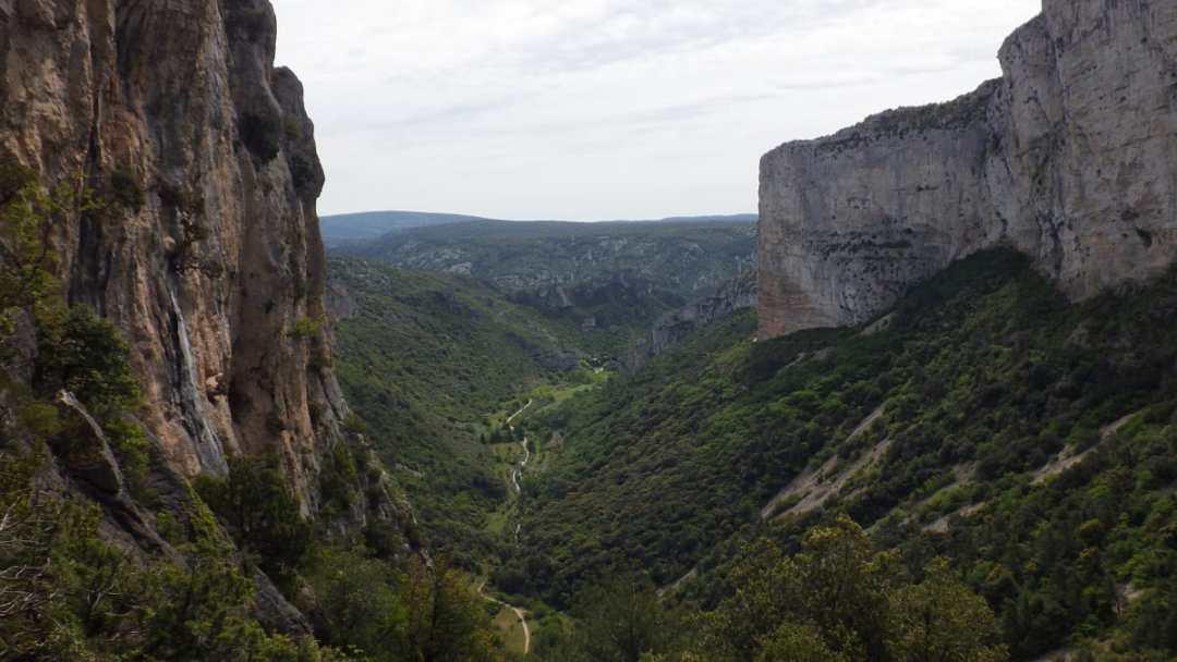 Le Cirque de l'Infernet, étape sur le chemin du Mont Saint Baudille