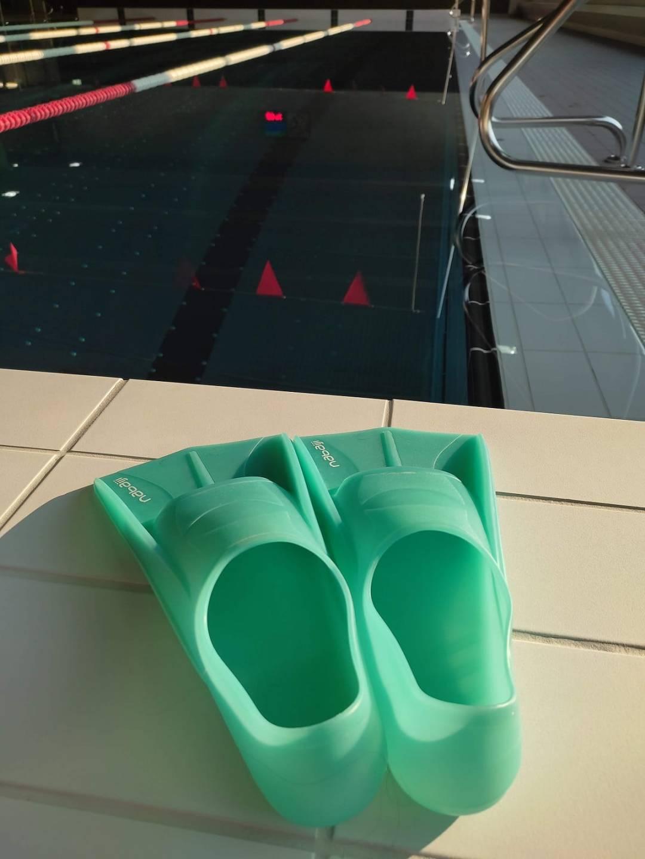 les palmes, matériel pour progresser en natation