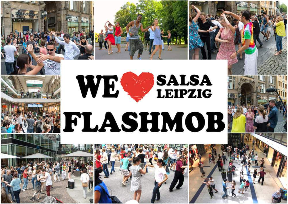Salsa-Flashmob-Leipzig