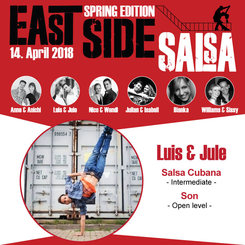 East Side Salsa // Luis & Jule